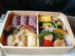 新幹線車内で食べた幕の内弁当20061007.JPG